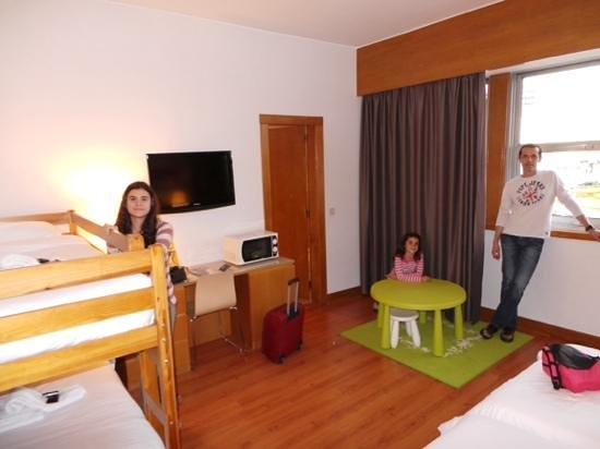 HF Fenix Lisboa: habitacion cuadriple