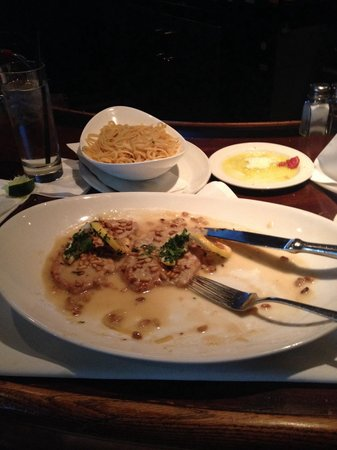 Carmine's: The best veal (limone) I have ever had. Tender and no fat!!!!