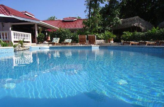 Petite Anse Beachfront Hotel & Restaurant Grenada: Swimming pool.