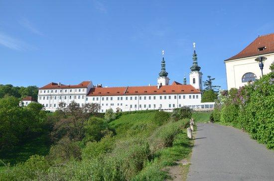 Questenberk: Monastery behind hotel