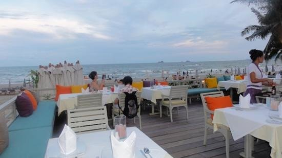Anantasila Villa by the Sea, Hua Hin: Perfect dinner venue
