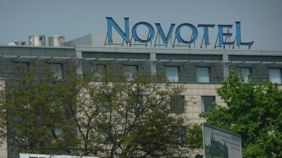 Novotel Krakow Centrum : view from the river trip