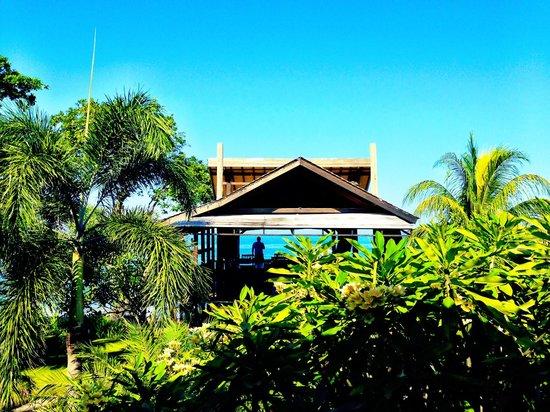 Sunset House Lombok : Utsikt fra hotellrommet