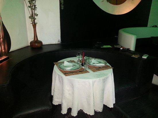 Bella Mbriana Hotel de Charme: tavolo