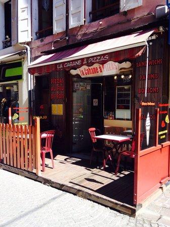 La Cabane a Pizzas : La terrasse