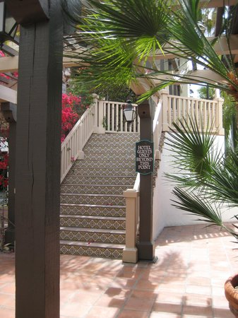 Best Western Plus Hacienda Hotel Old Town : steps
