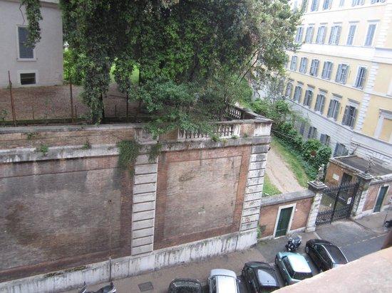 Sofitel Rome Villa Borghese: view from window