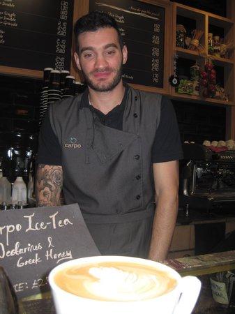 Carpo Piccadilly: Carpo Londo Inolvidable cafe!