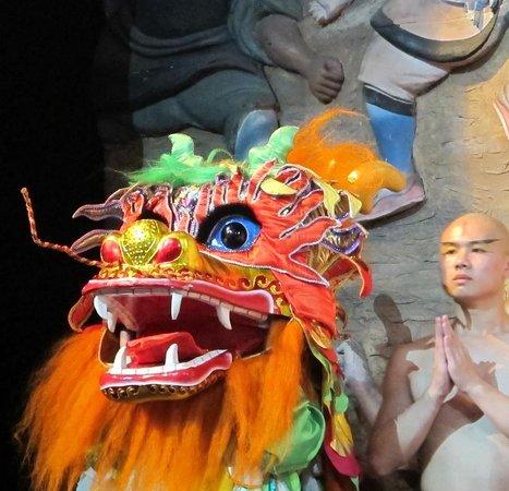 Red Theatre Beijing Kung Fu Show : Финал представления