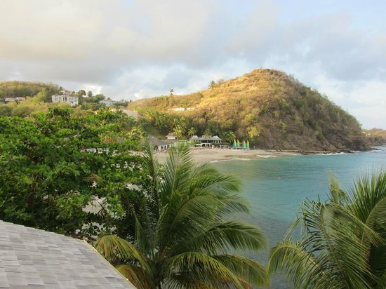 BodyHoliday Saint Lucia : View from Room 472 at Sunrise