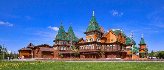 Museo y Reserva de Historia y Arquitectura de Kolomenskoye: Дворец царя Алексея Михайловича в Коломенском
