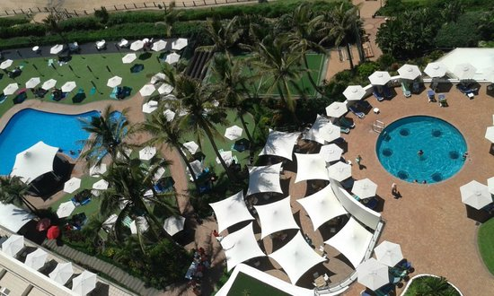 uMhlanga Sands Resort: View from our room