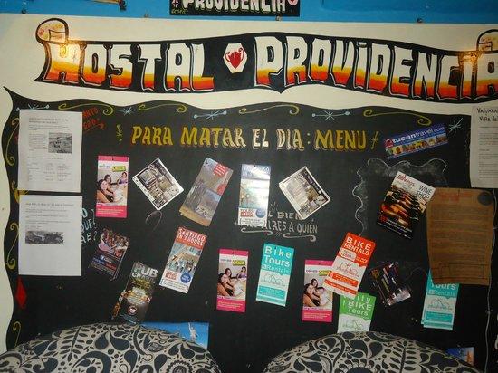 Hostal Providencia: Mural