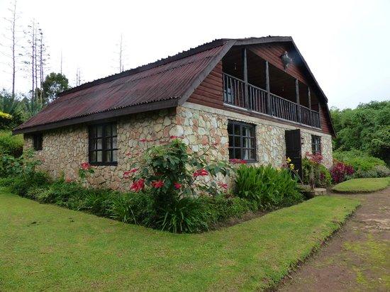 Mufindi Highland Fishing Lodge: The lodge we stayed in