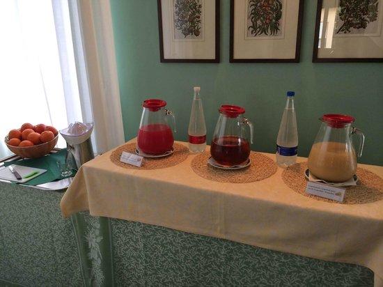 Hotel Villa Igea: buffet succhi e spremute