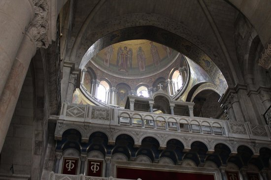 Iglesia del Santo Sepulcro: The dome