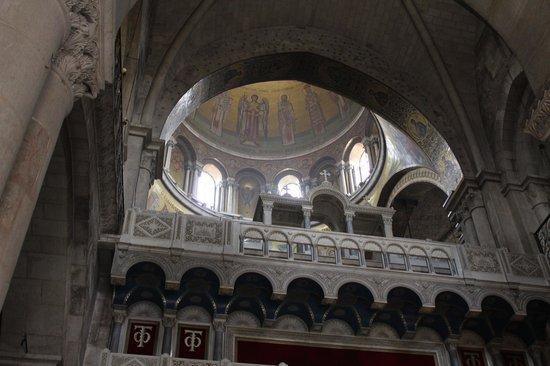 Église du Saint-Sépulcre (Jérusalem) : The dome