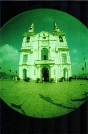 Sanctuary of Nossa Senhora da Penha : Igreja, vista traseira