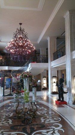Hotel Baltschug Kempinski Moscow : Hall d'entrée