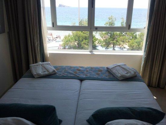 Villa Del Mar Hotel: vista de la habitación