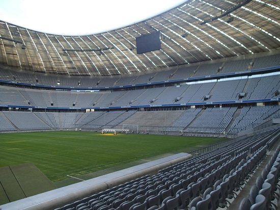 Allianz Arena: Inside