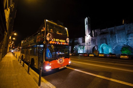 Barcelona Bus Turistic by Night