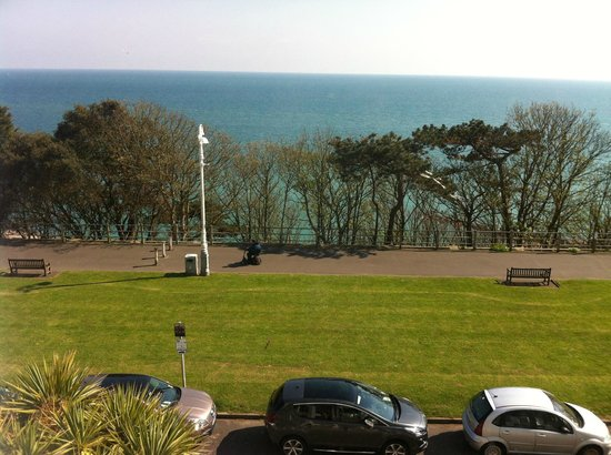 The Southcliff: View from our room
