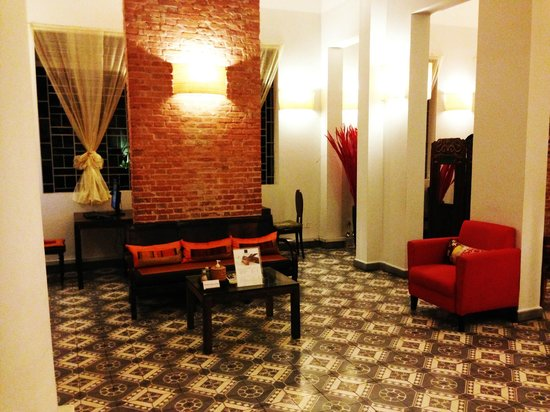 The Plantation - urban resort & spa : Retro charm – hotel lobby