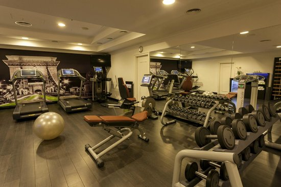 Sofitel Budapest Chain Bridge: Fitness room
