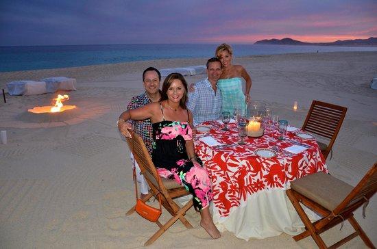 Las Ventanas al Paraiso, A Rosewood Resort : Unforgettable dinner on the beach