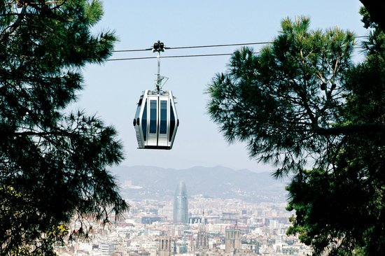 Photo of Monument / Landmark Teleferic de Montjuic at Avinguda Miramar 30, Barcelona 08038, Spain
