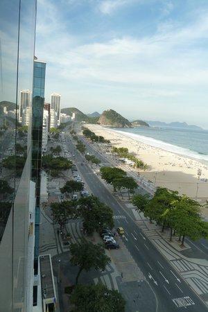 Hotel Astoria Palace: Toller Blick auf die Copacabana (12. Stock)
