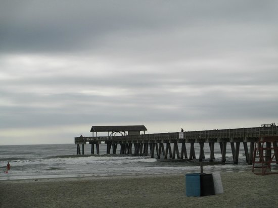 The pier at Tybee Island Beach