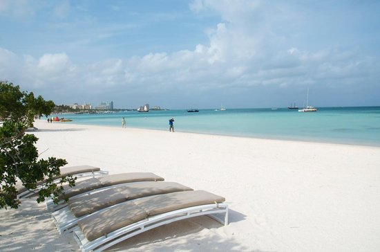 The Ritz Carlton Aruba Best Beach Chairs Umbrellas On High