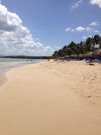 Grand Bahia Principe El Portillo : Beach