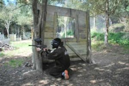 Paintball Can Garriga: paintball campo 3