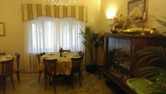 Hotel Lancelot: dining room