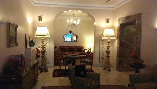 Hotel Lancelot: hall