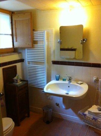 La Posta di Confine: bagno