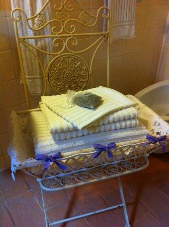 La Posta di Confine: particolare bagno