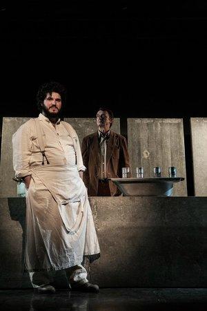 Teatro della Cooperativa: The Great Disaster con Matthieu Pastore, scene e regia Renato Sarti.
