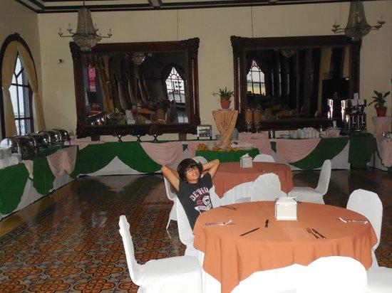 Gran Hotel Costa Rica: breftast area