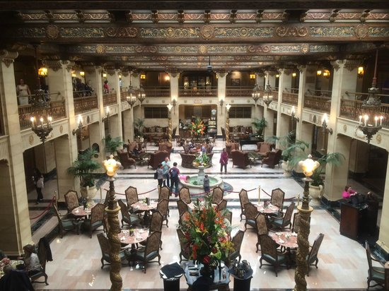 The Historic Davenport, Autograph Collection: Original hotel lobby
