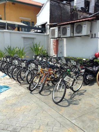 Chulia Heritage Hotel: free bicycles for rent