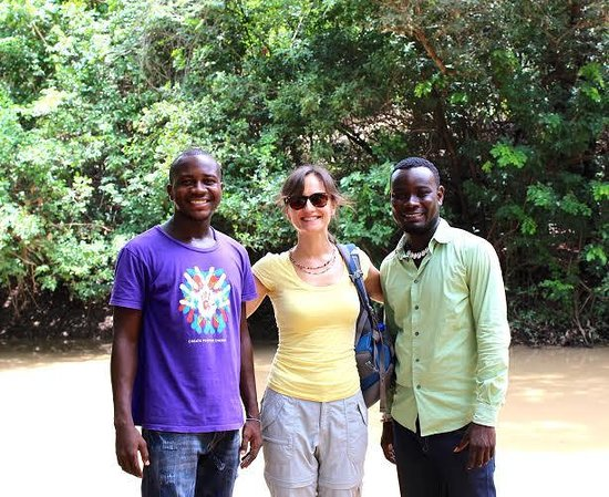 African Dream Hotel: Tour guides Moses and Emmanuel