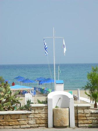 Kriti Beach Hotel : Hotellets strand