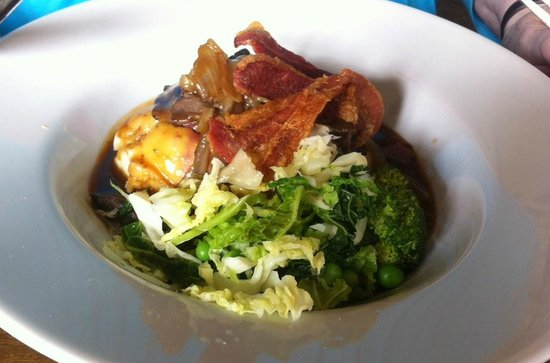 Cow and Plough: Liver and Bacon