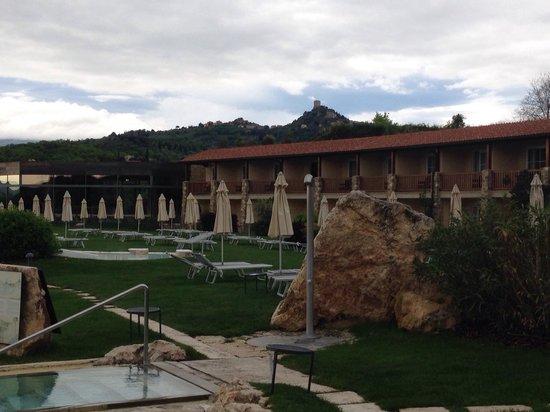 Hotel Adler Thermae Spa & Relax Resort: Vista della nuova zona relax
