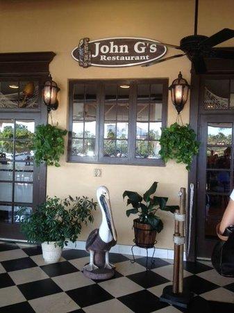 John G's Restaurant : John G's Always Welcomes You!