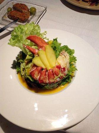 La Bodeguilla: my lobster salad!